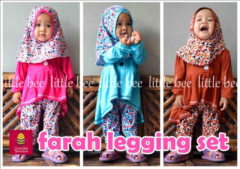 baju anak online 30 desain baju muslim anak perempuan terbaru 2017, paling keren!,Model Baju Muslim Anak 1 Thn