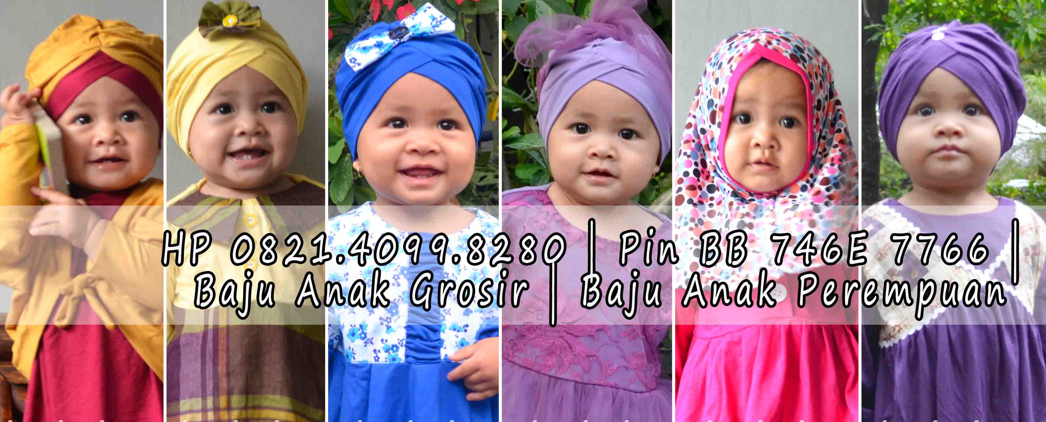 Baju Anak Muslim Perempuan Grosir Baju Anak Surabaya Call SMS